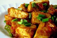 Agedashi-dofu (tofu frito japonês)